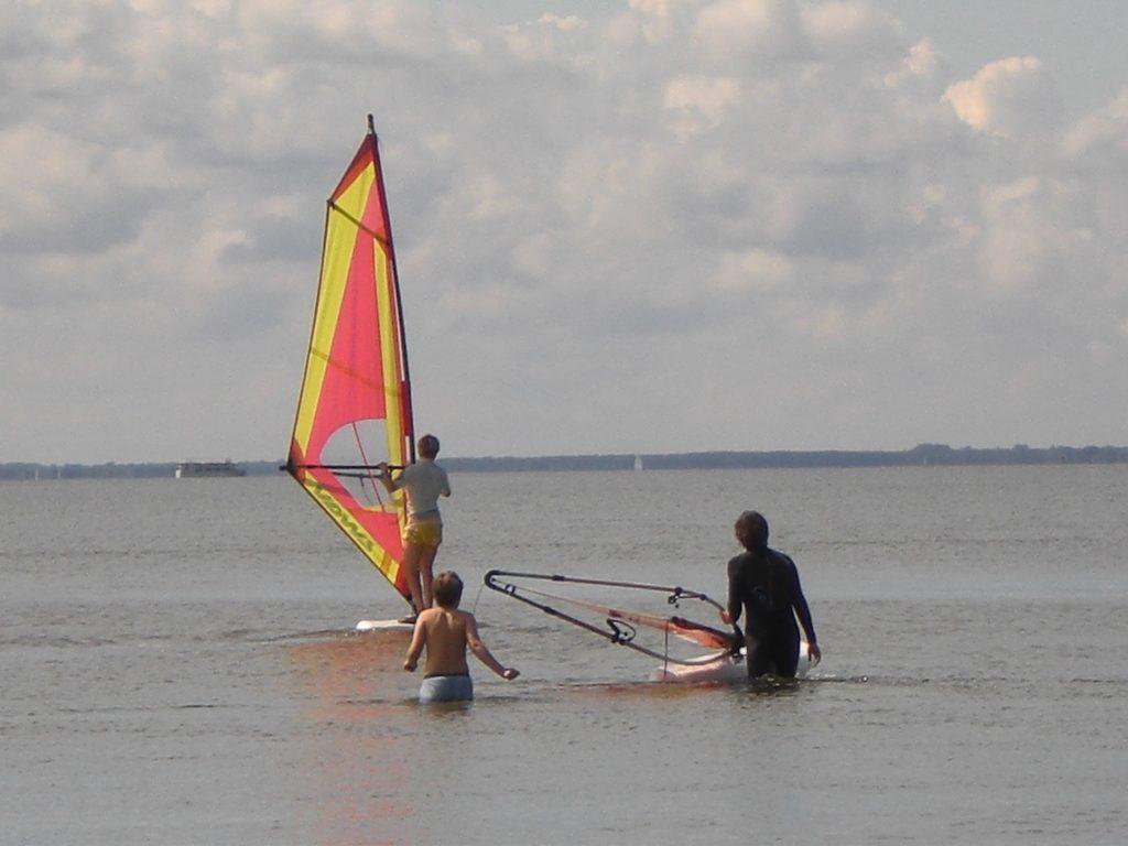 Blogeintrag: Los geht die Wassersport Saison…