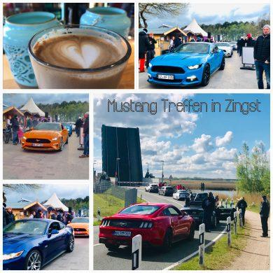 Blogeintrag zu Mustang Treffen in Zingst.